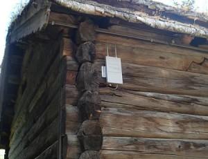 Mittelalter W-Lan  Ja, in Lillehammer, auf Maihaugen, gab es schon im 14. Jahrhundert ein gut funktinierendes W-Lan-Netz. An dieser Stelle konnte eine der Funkstationen in einem erstaunlich gutem Zustand erhalten werden.