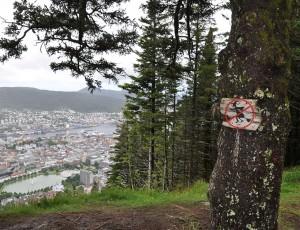 Bitte beachten: Hexen ist der Überflug von Bergen nicht gestattet!