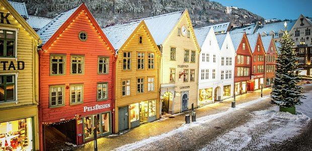 Jul-pa-Bryggen; Copyright: Bergen Reiselivslag Christer Roennestad – visitBergen.com