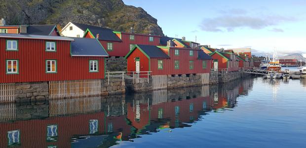 Reisen Norwegen Lofoten Stamsund 940×400