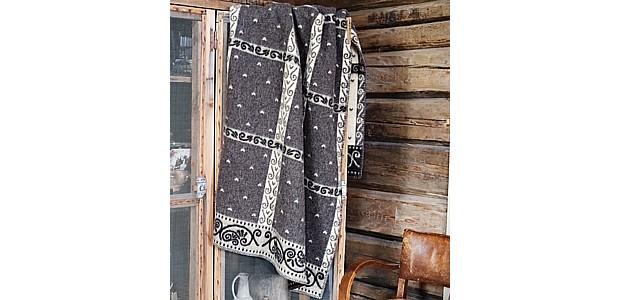 Roeros Tweed Decke