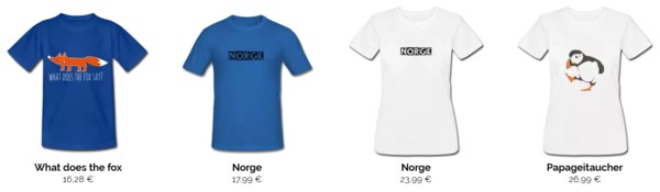 t-shirts-norwegen