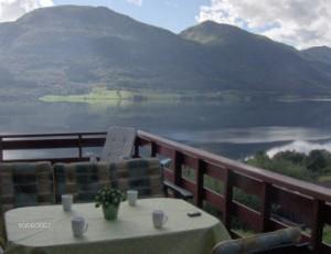 Utendors utsikt fra veranda
