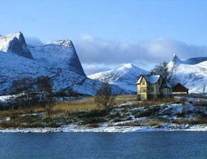 Am Efjord bei Narvik