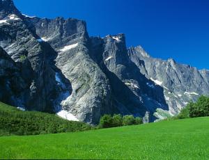 """Felswand """"Trollveggen"""", Romsdal"""