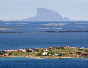 Vogelinsel Lovund, Region Helgeland