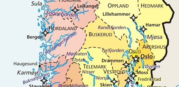 map-suednorwegen
