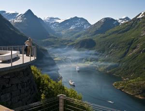 der Geirangerfjord (Copyright visit norway)
