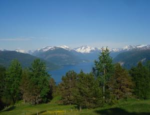 Blick auf den Nordfjord