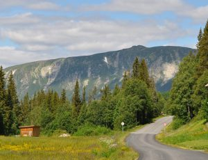 Reisen in Norwegen