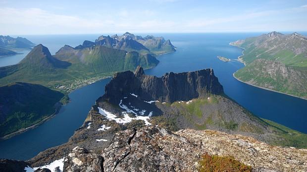 Senjas Berge, (c) Gunder Gabrielsen/NordNorsk Reiseliv