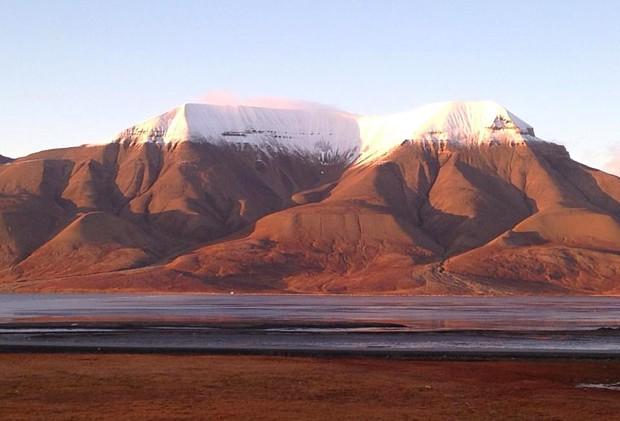 Spitzbergen im Herbst