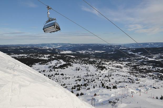 Winterzauber Skifahren in Skeikampen