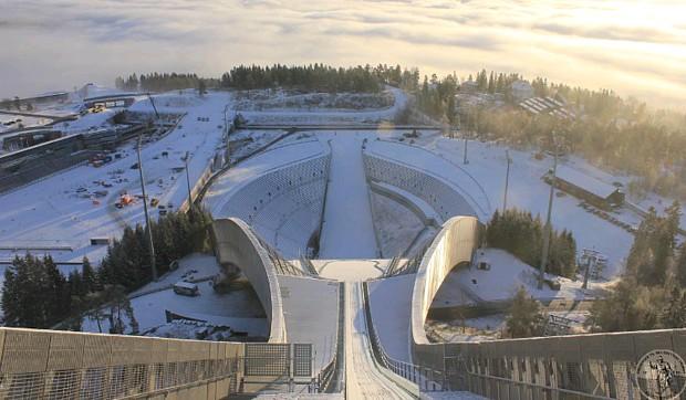 Holmenkollen Web Cam Winterblick