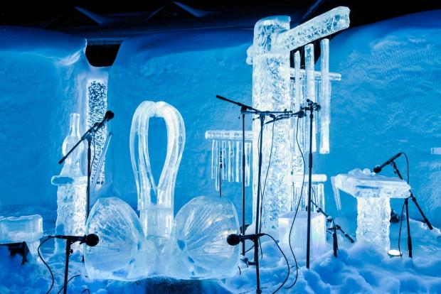Eismusik in Geilo