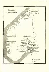 Glaswerke in Norwegen