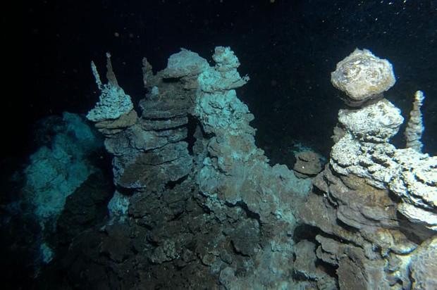 Nasse Vulkane, (c) Senter for geobiologi (UiB