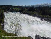 Laksforsen Copyright www.world-of-waterfalls.com/