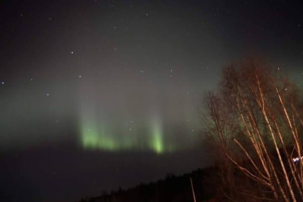 Vorweihnachtszeit Nordlicht