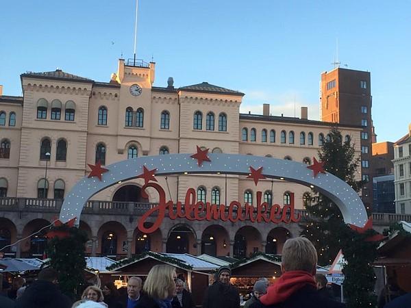 Vorweihnachtszeit Oslo Julemarked