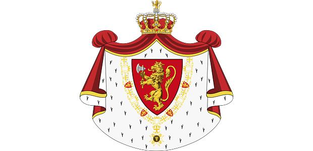 Wappen Koenig Norwegen