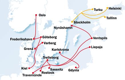 Karte Norwegen Dänemark.Anreise Norwegen Norwegen Service