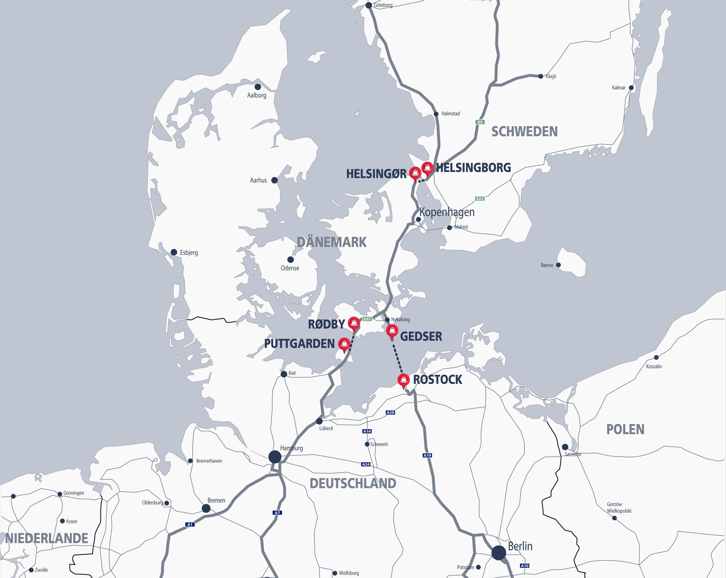 Anreise Norwegen   Norwegen Service