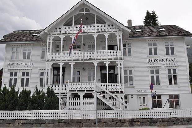 Holzhotel in Rosendal