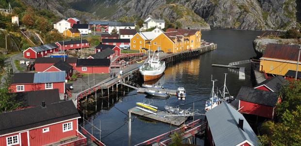 Norwegen Service Nusfjord 940×400