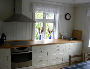 from kitchen