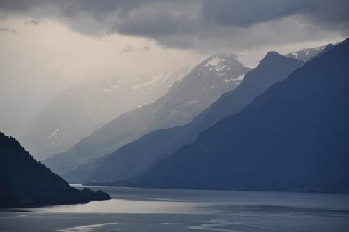 Lichtspiele am Hardangerfjord