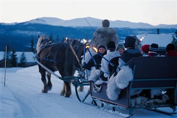 Weihnachten in Røros, Copyright: Visit Norway Imagedatenbank