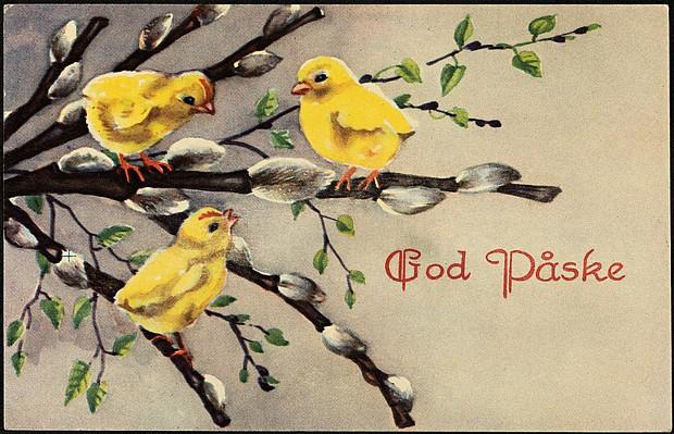 Frohe Ostern – God påske