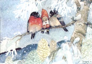 Nostalgische Weihnachtsbilder.Nisser In Norwegen Norwegen Service
