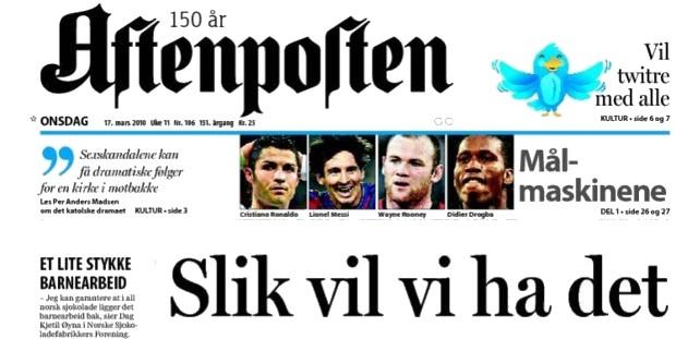 Aftenposten Zeitung