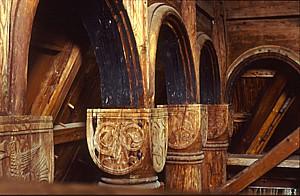 Kapitele Stabkirche Urnes