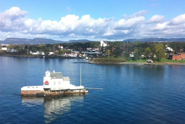 Hafeneinfahrt-Oslo