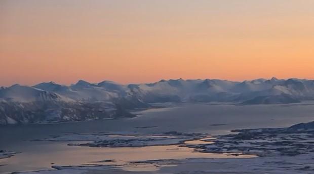 Polarnacht über dem Norden