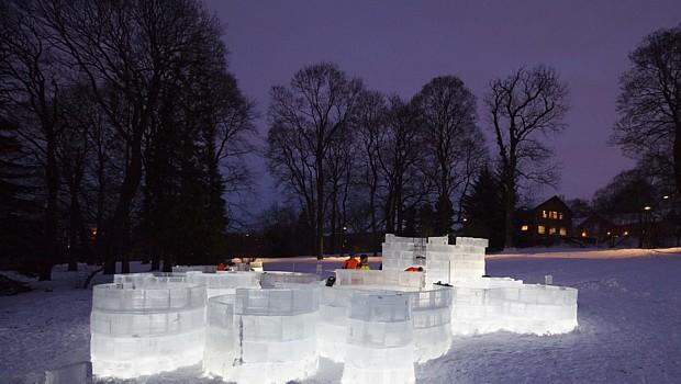 Eislabyrinth