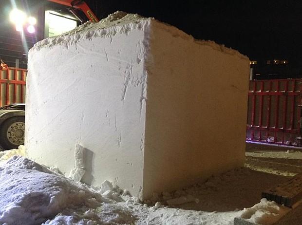 Schneekubus
