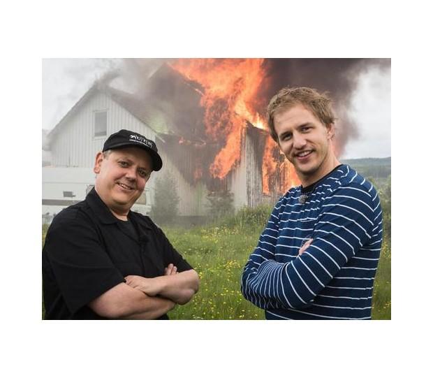 Eine brennende Show