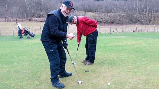 Golf im Winter