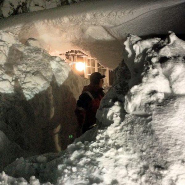 Telemark - Schnee