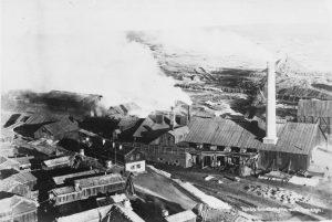 Die alten Gruben von Røros