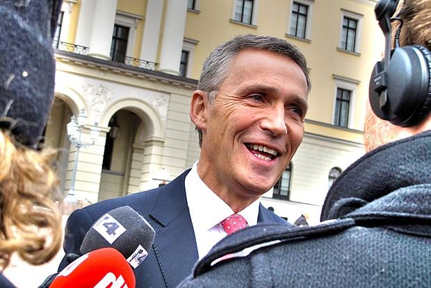 Stoltenberg (c) wikipedia, Senterpartiet