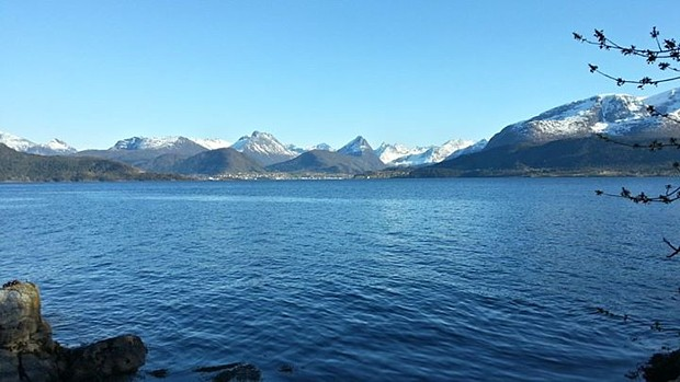 Der Isfjord bei Åndalsnes (c) Heiko Scholze