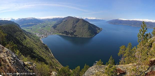 Vik am Sognefjord, copyright Svein Ulvund