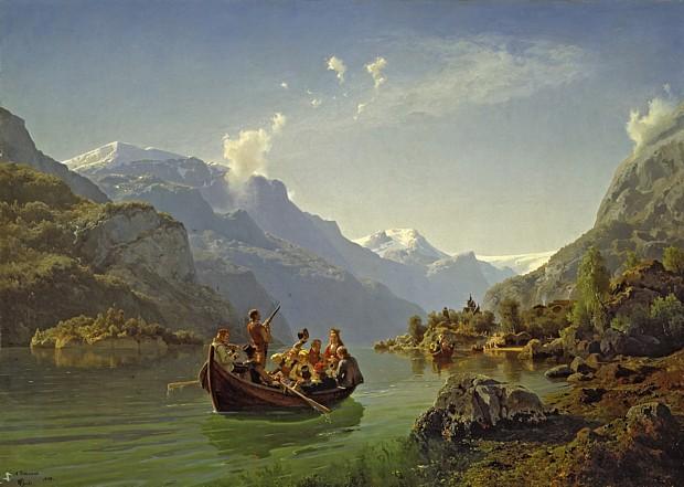Brudeferd i Hardanger – von Tidemand und Gude