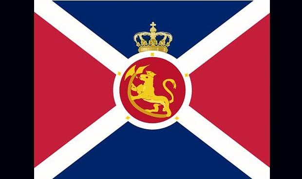 Norwegischer Flaggenvorschlag