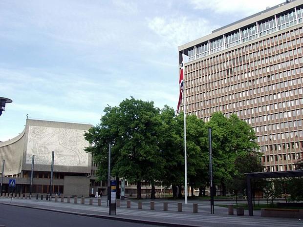 Regierungsviertel Oslo, (c) wikipedia, J.C. Fagerback